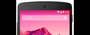 Nexus 5 4:40