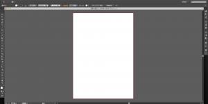 IllustratorCC2014作業画面
