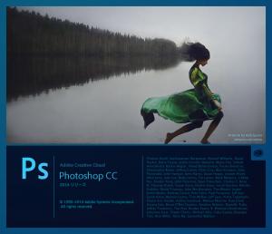 PhotoshopCC2014起動画面