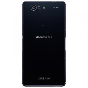 ドコモ版Xperia Z3 Compactの背面