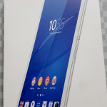 Xperia Z3 Tablet Compactの箱