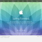Apple発表会告知