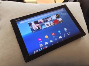 Xperia Z4 Tabletとみられる写真