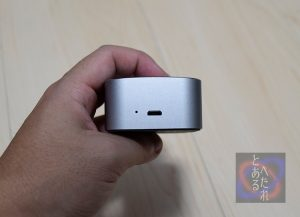 Micro-USBとLEDランプ