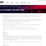 MWC の公式サイトより引用