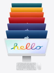 カラフルな iMac